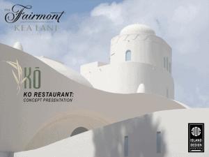 Ko Restaurant concept by Island Design Center
