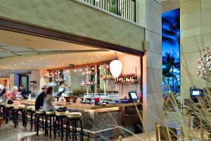 Chucks restaurant design by Island Design Center, HI