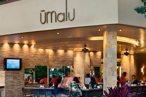 Umalu restaurant article - Island Design Center, Wailuku, HI